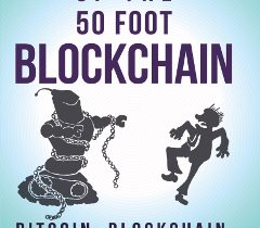 Photo of the book Attack of the 50 Foot Blockchain