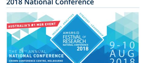 AMSRS Conference 2018