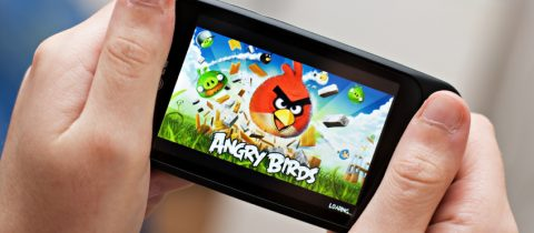 Image of Angry Bird game