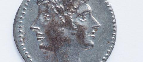 Janus looking backwards and forwards
