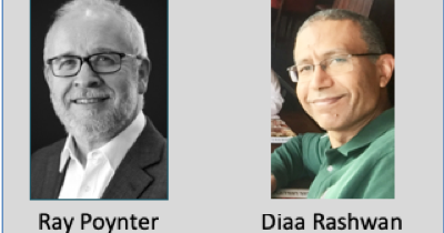 Diaa Rashwan and Ray Poynter interviewer
