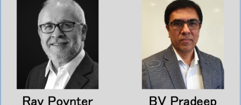 Ray Poynter and BV Pradeep