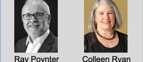Ray Poynter & Colleen Ryan