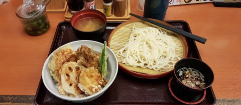 Tendon Udon Set